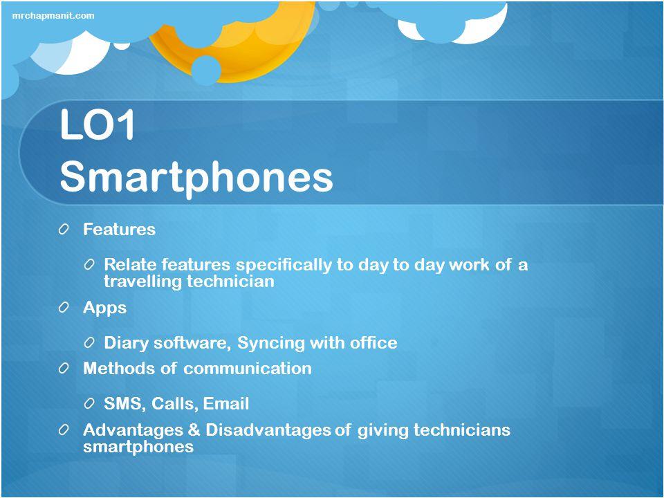 LO1 Smartphones Features