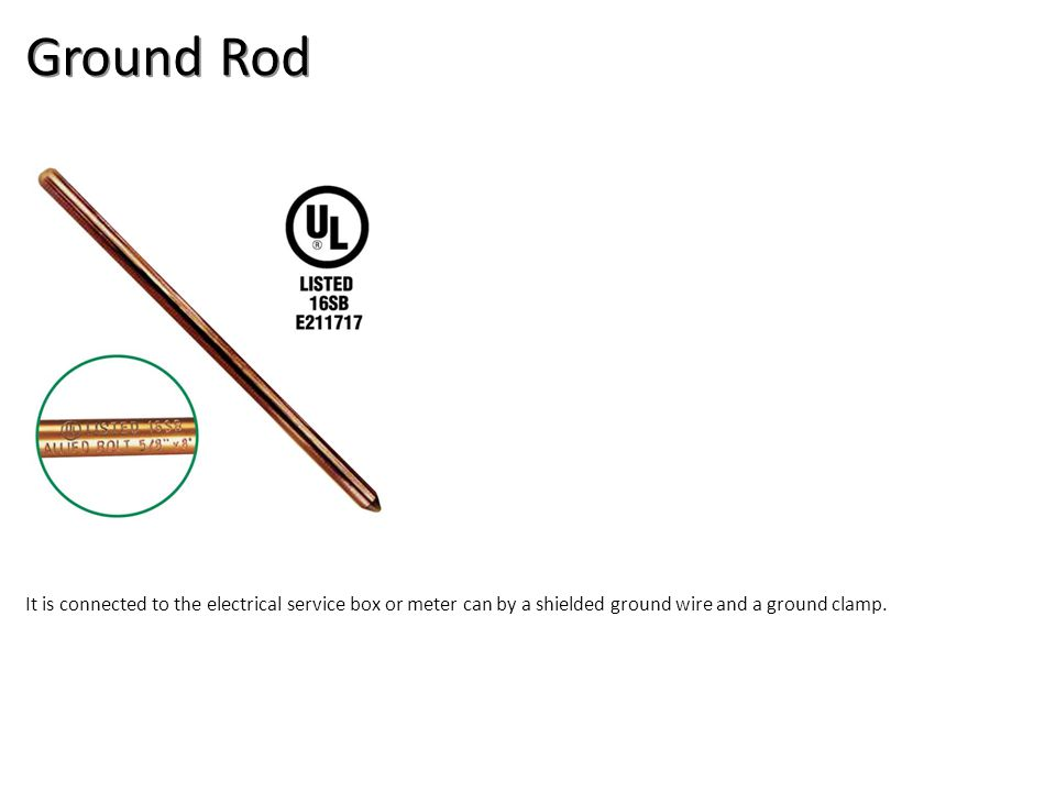Ground Rod Electrical-Electrical Supplies Image: GroundRod.jpg Height: 180 Width: 180.