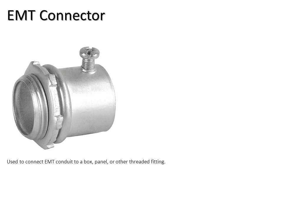 EMT Connector Electrical-EMT & Flex Conduit Image: EMTConnector.jpg Height: 301.2 Width: 300.
