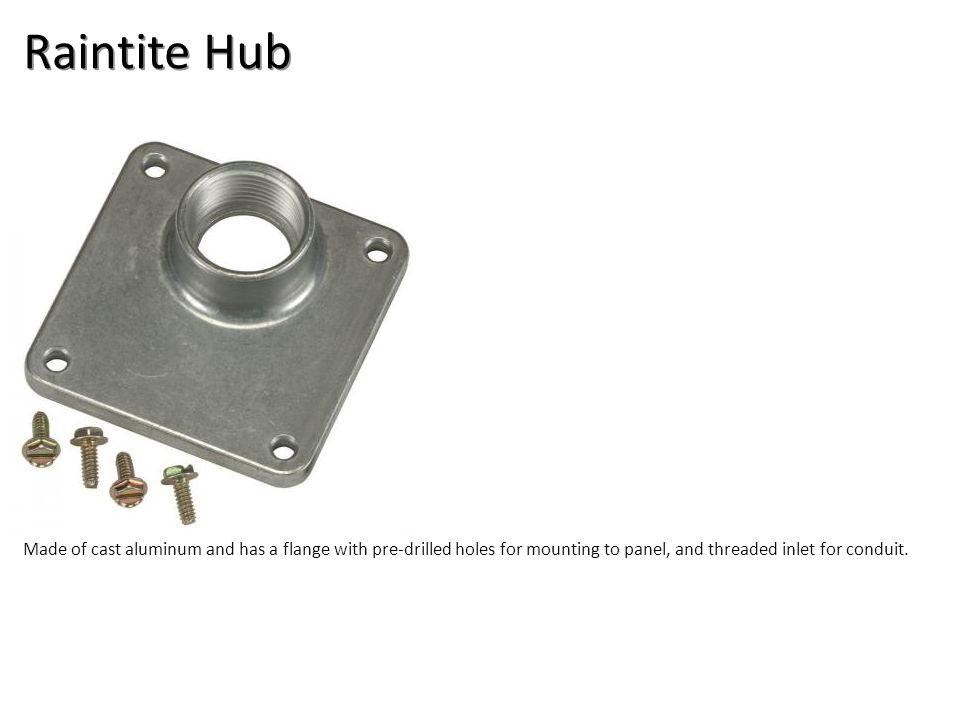 Raintite Hub Electrical-Rigid Conduit Image: Raintight Hub.jpg Height: 400 Width: 400.