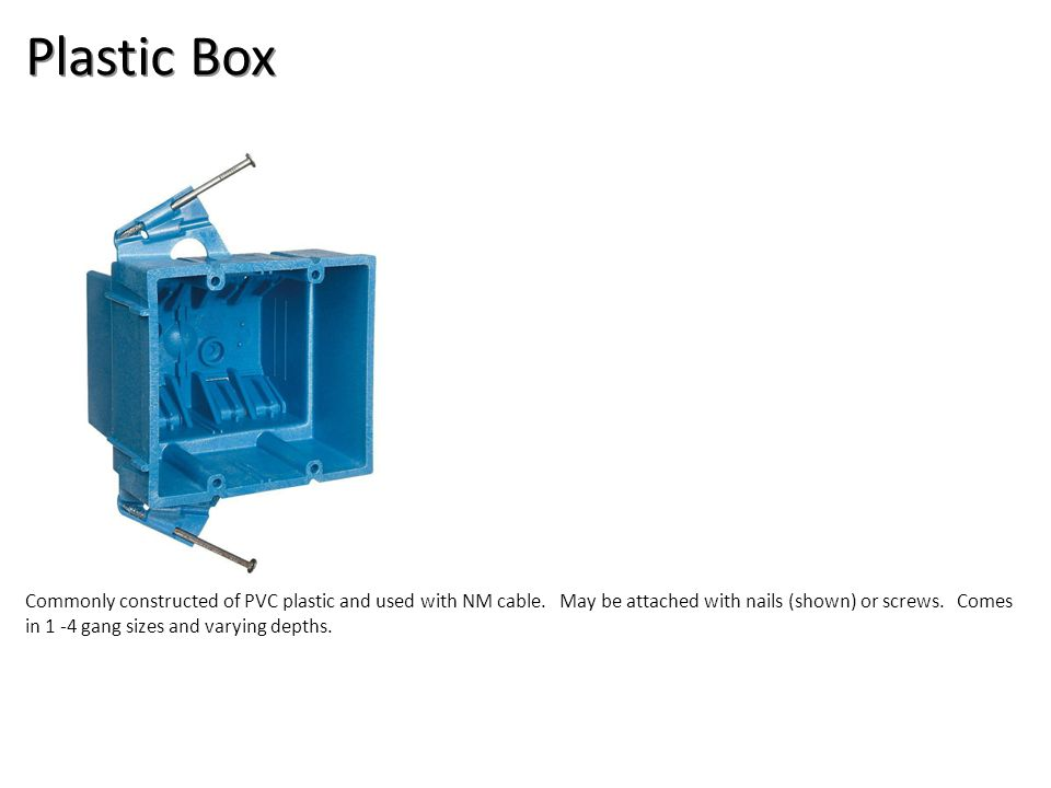 Plastic Box Electrical-Boxes and Devices Image: Plastic box.jpg Height: 1000 Width: 1000.