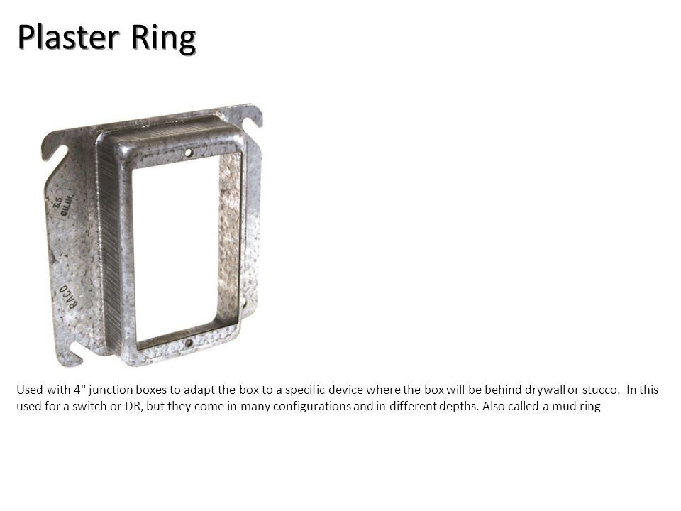 Plaster Ring Electrical-Boxes and Devices Image: Plaster Ring.jpg Height: 1000 Width: 1000.
