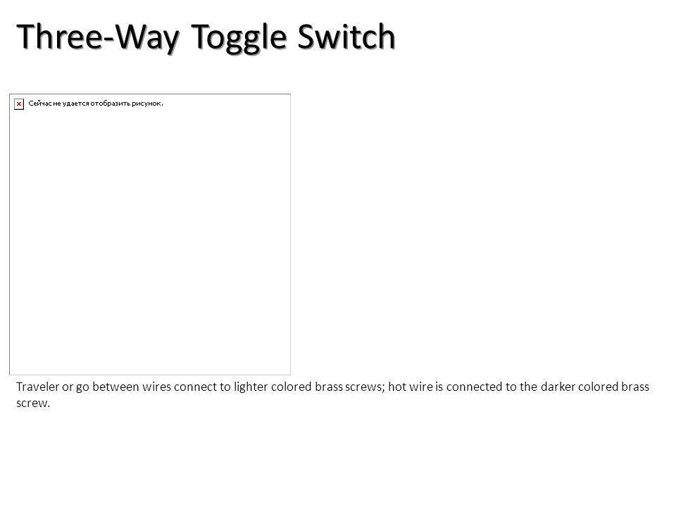 Three-Way Toggle Switch