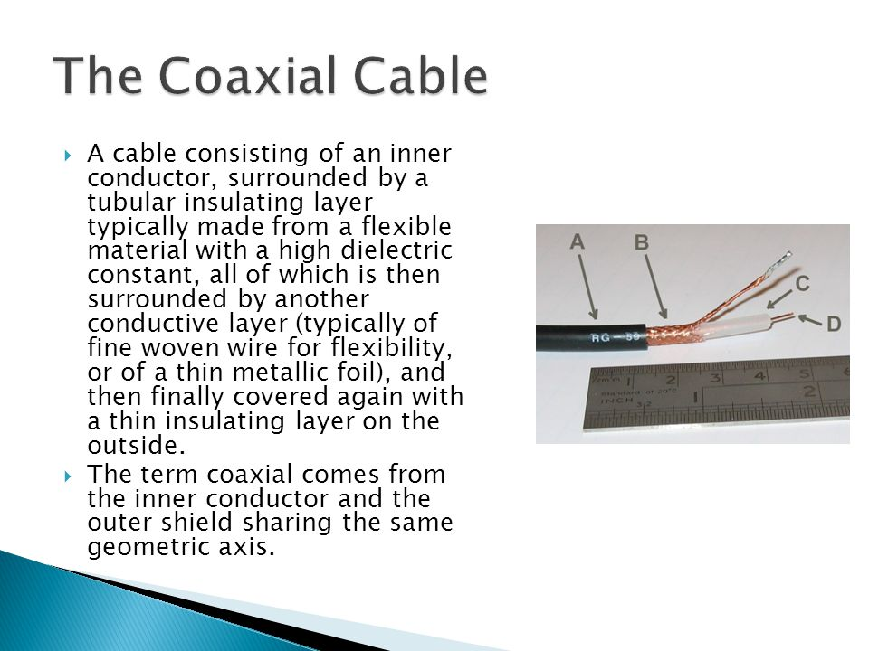 The Coaxial Cable