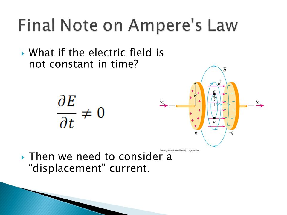 Final Note on Ampere s Law