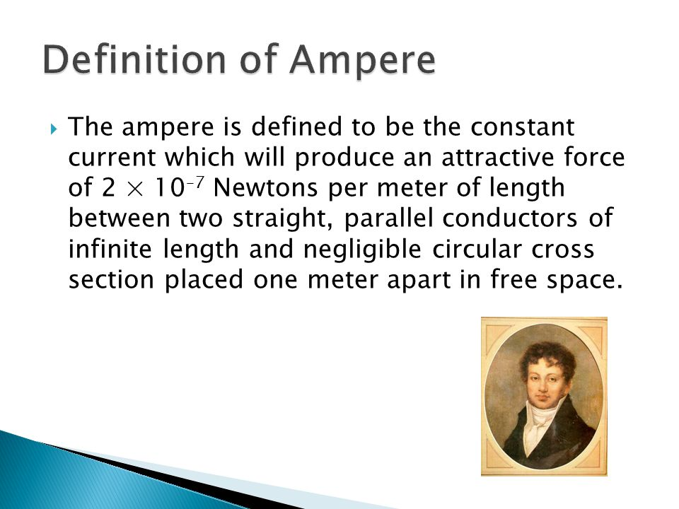 Definition of Ampere