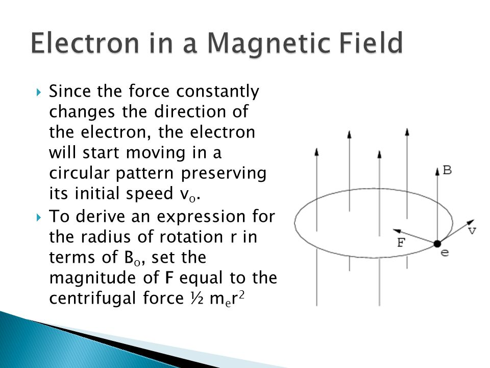 Electron in a Magnetic Field