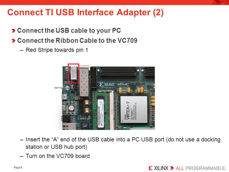 Connect TI USB Interface Adapter (2)