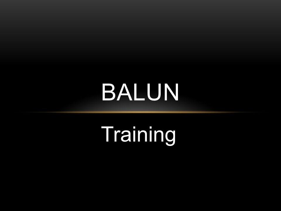 BALUN Training