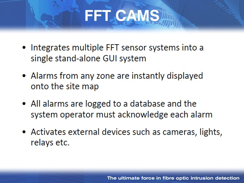 FFT CAMS