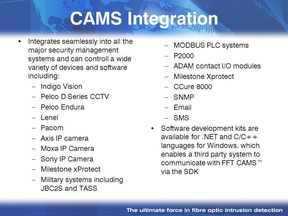 CAMS Integration