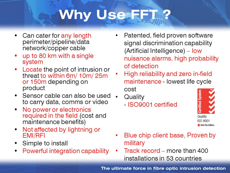Why Use FFT