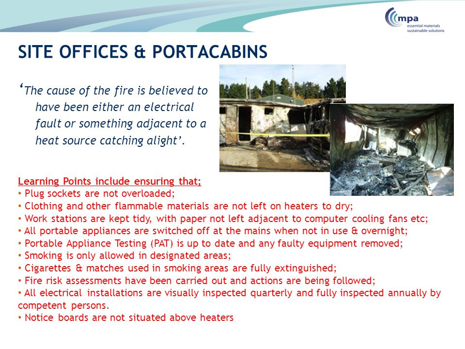 SITE OFFICES & PORTACABINS