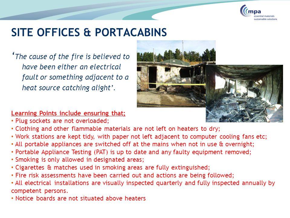 SITE OFFICES & PORTACABINS