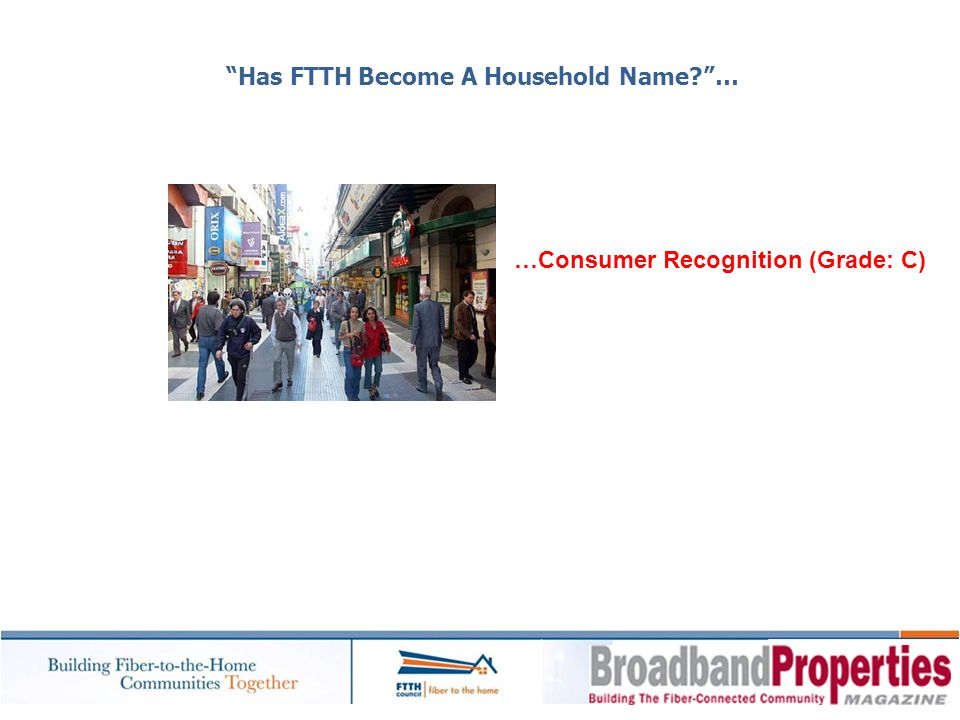 Has FTTH Become A Household Name …