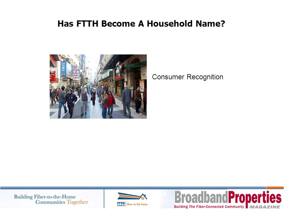 Has FTTH Become A Household Name