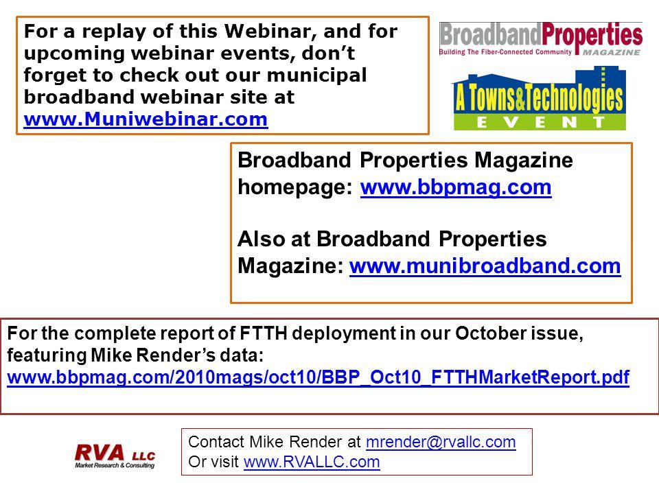 Broadband Properties Magazine homepage: www.bbpmag.com
