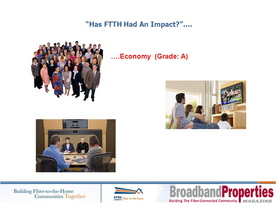 Has FTTH Had An Impact ….