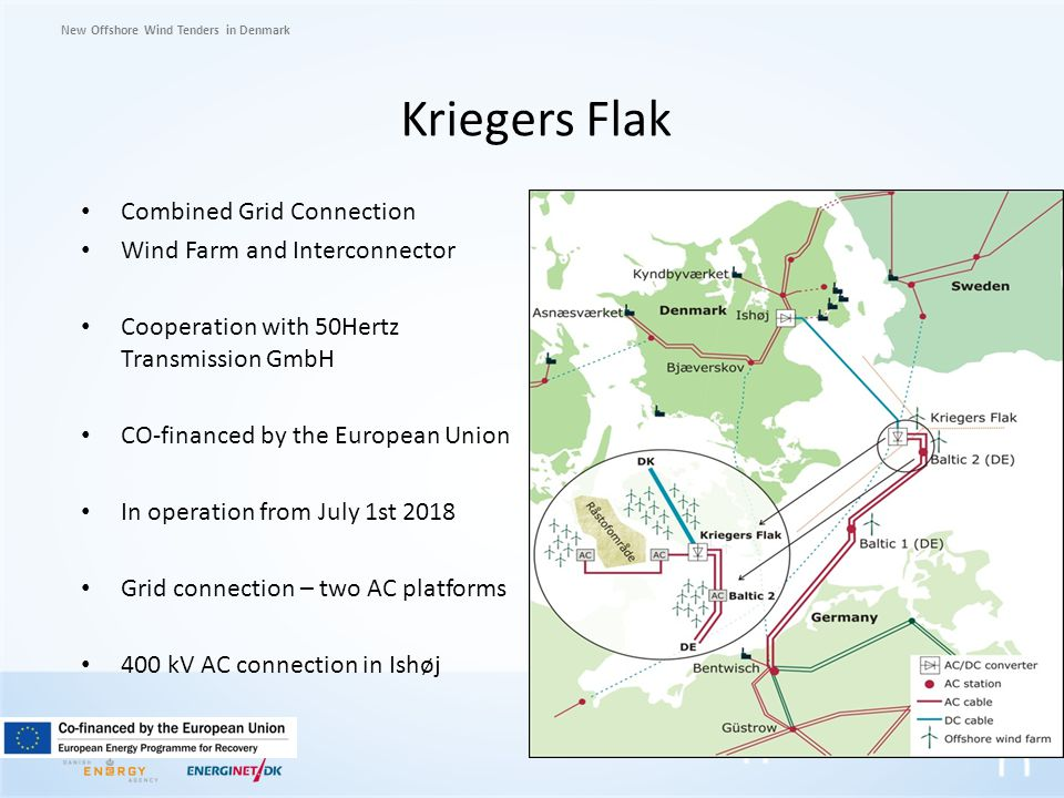Kriegers Flak Combined Grid Connection Wind Farm and Interconnector