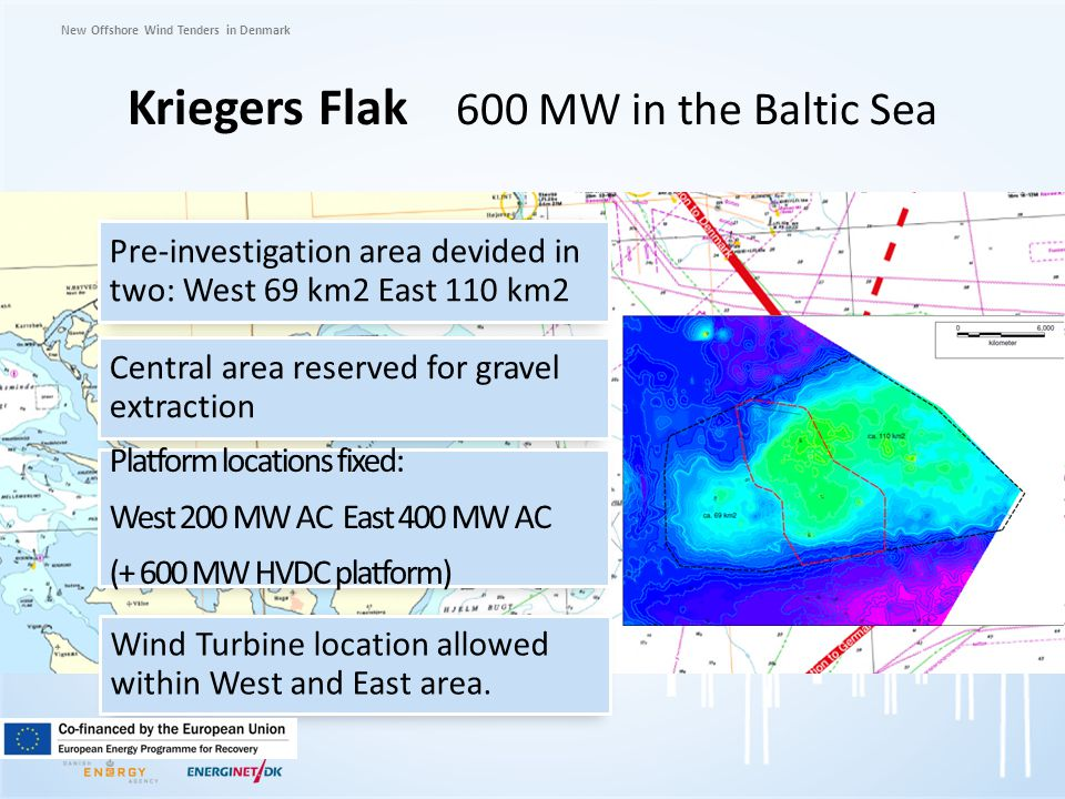 Kriegers Flak 600 MW in the Baltic Sea