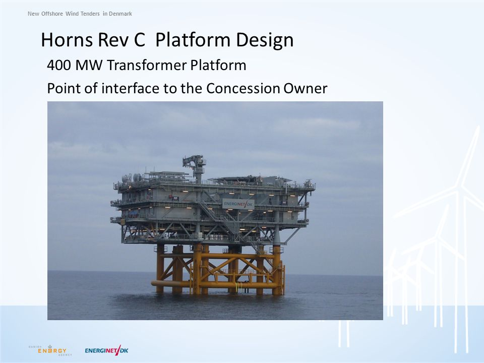 Horns Rev C Platform Design
