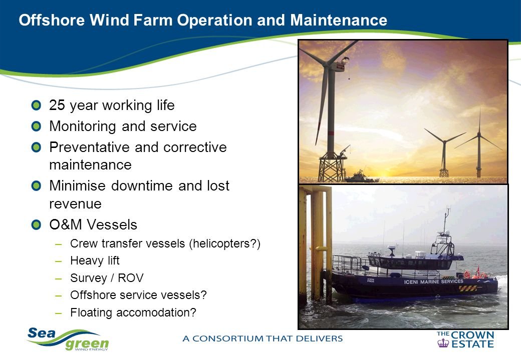 Offshore Wind Farm Operation and Maintenance