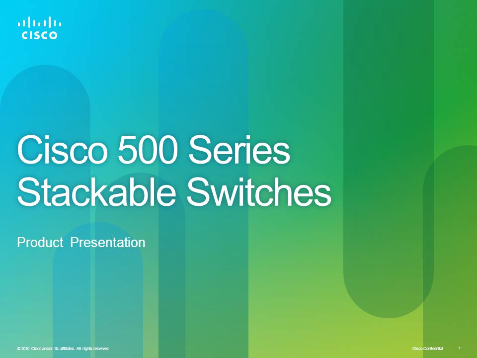 Cisco 500 Series Stackable Switches