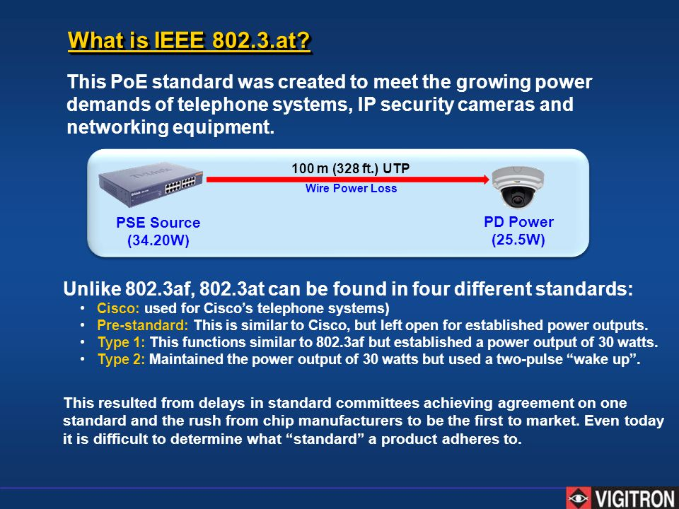What is IEEE 802.3.at