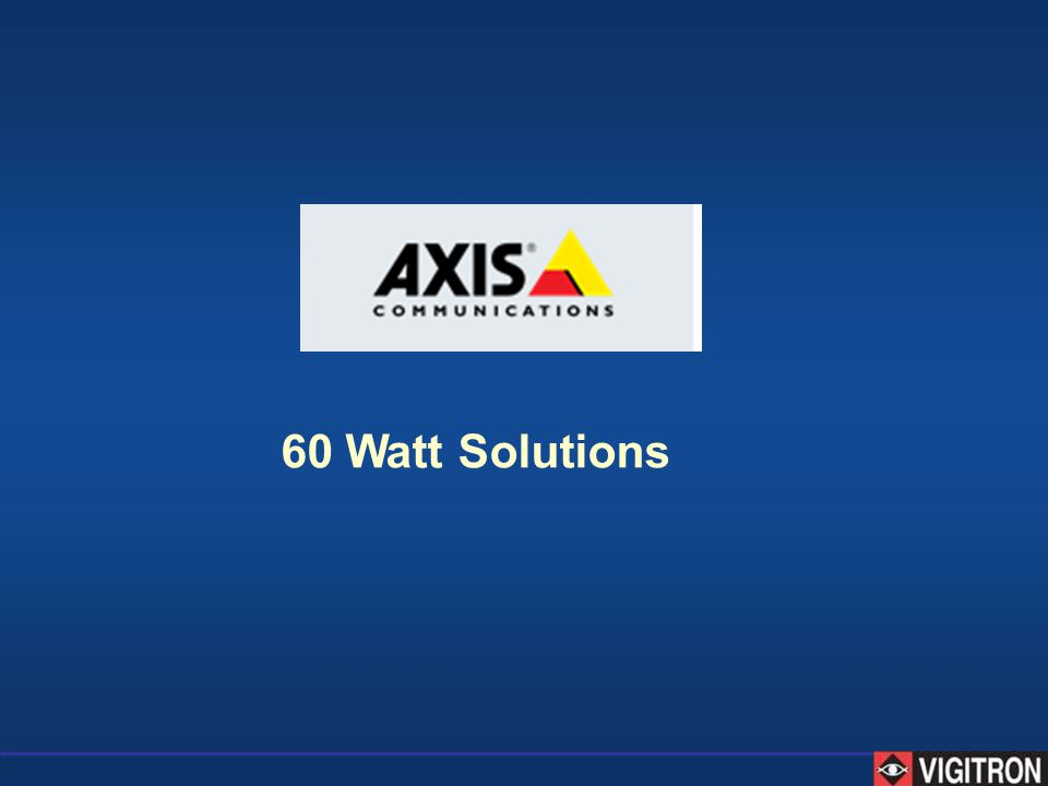 60 Watt Solutions