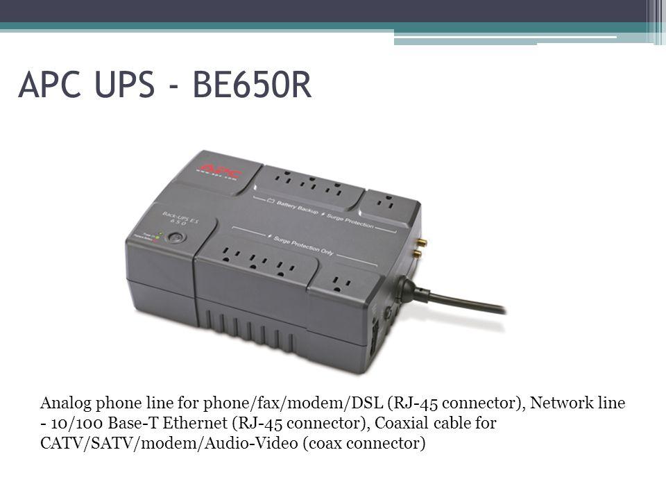 APC UPS - BE650R