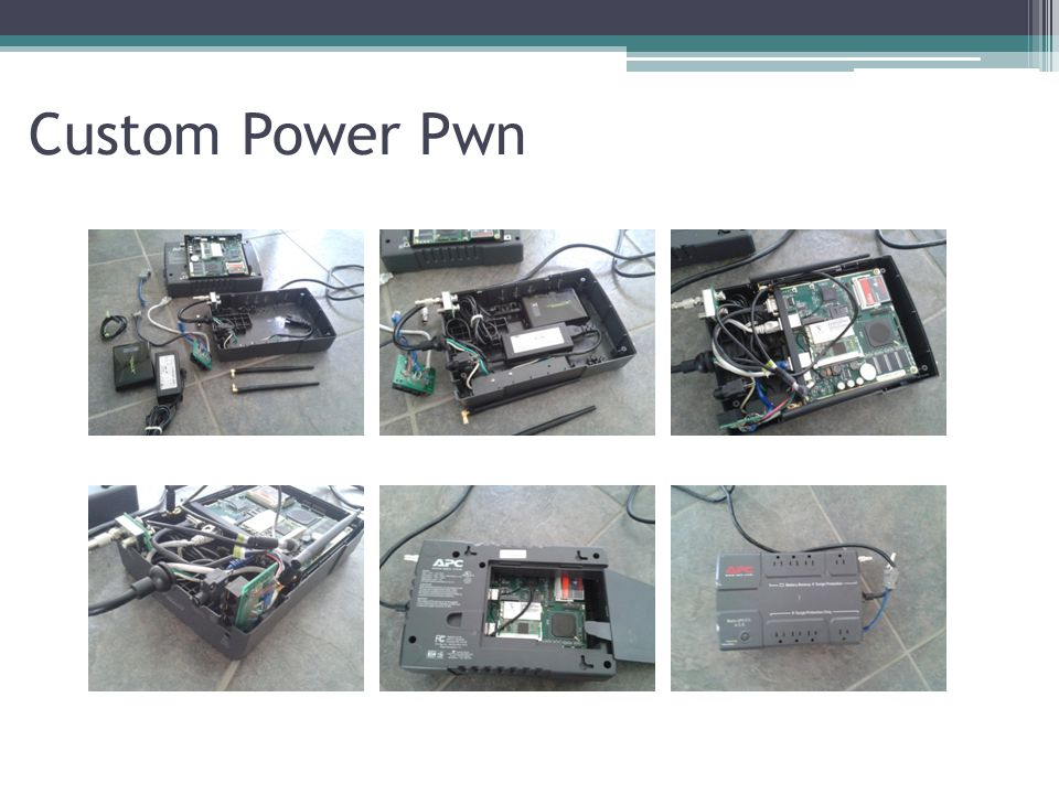 Custom Power Pwn