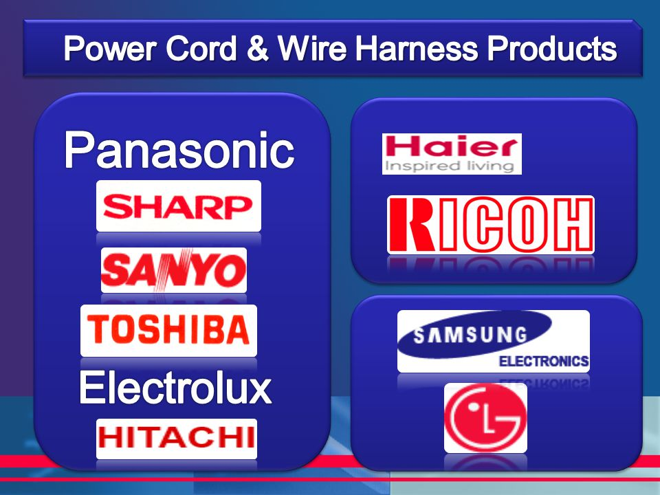 Power Cord & Wire Harness Products