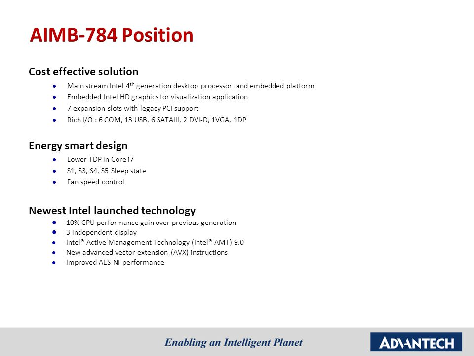 AIMB-784 Product Overview