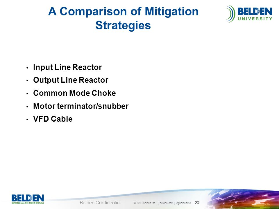 A Comparison of Mitigation Strategies