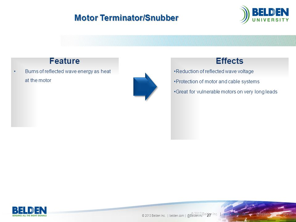 Motor Terminator/Snubber