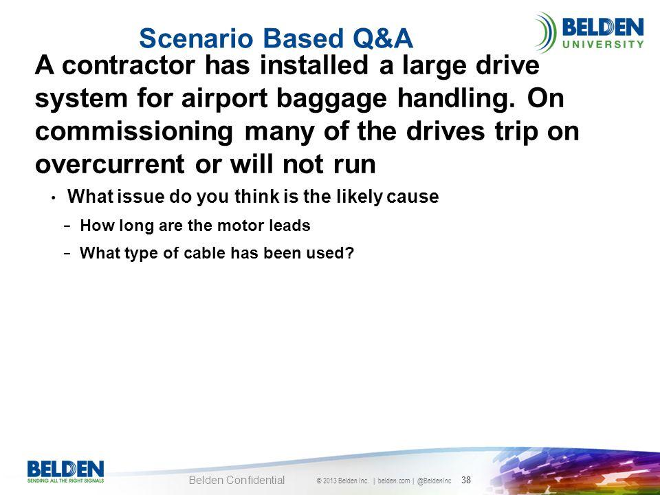 Scenario Based Q&A
