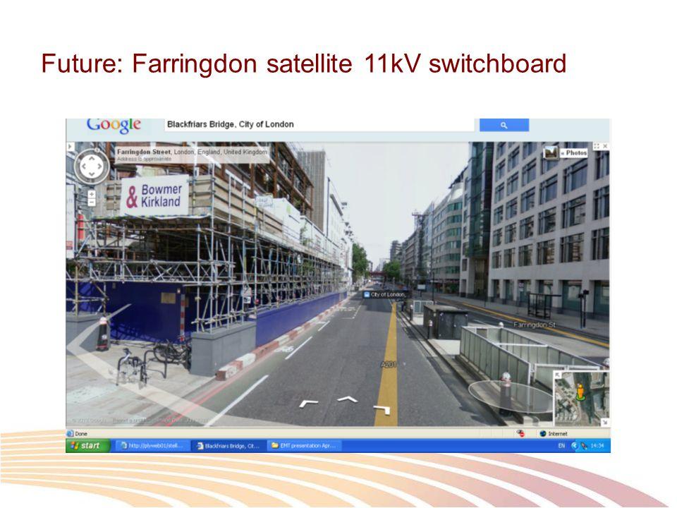 Future: Farringdon satellite 11kV switchboard