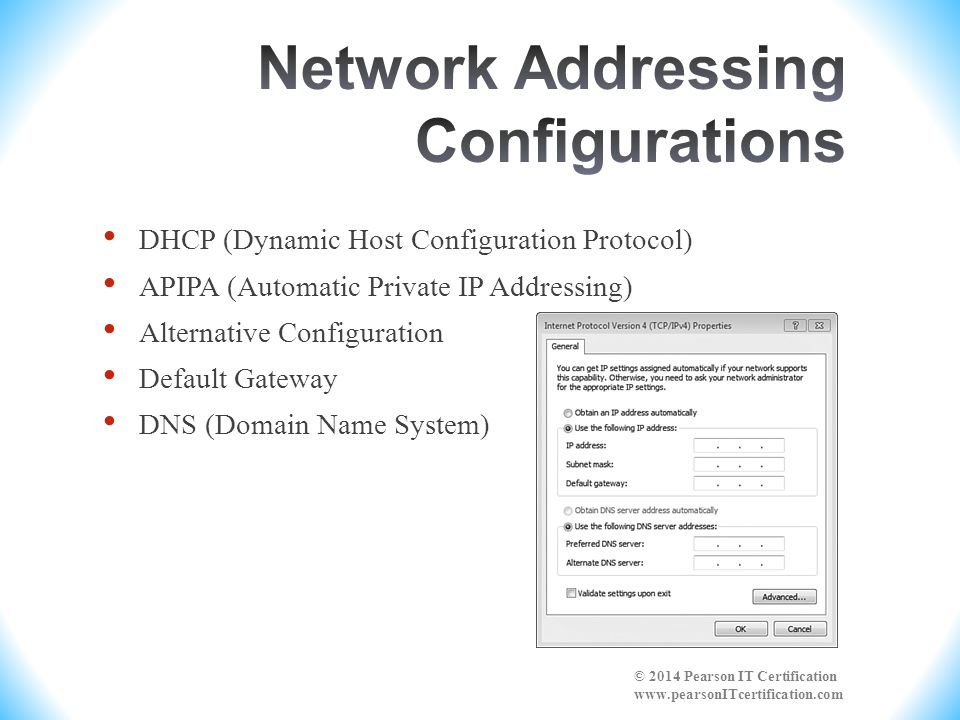 Network Addressing Configurations