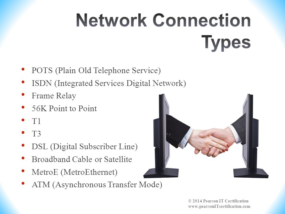 Network Connection Types