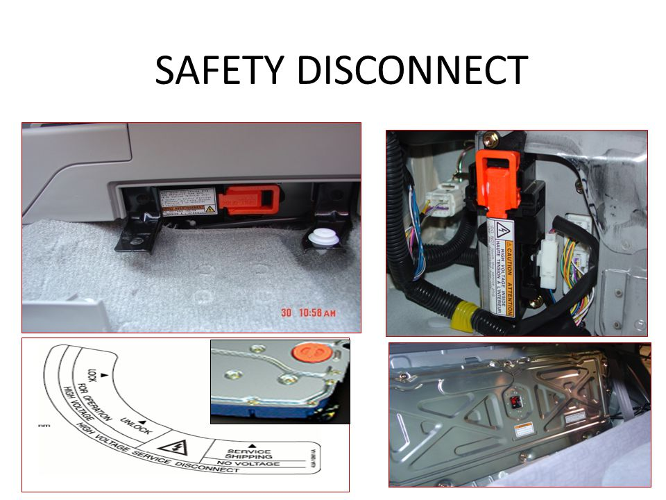 SAFETY DISCONNECT