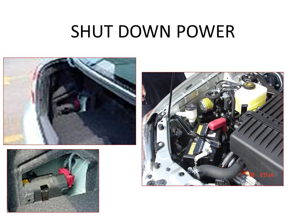 SHUT DOWN POWER