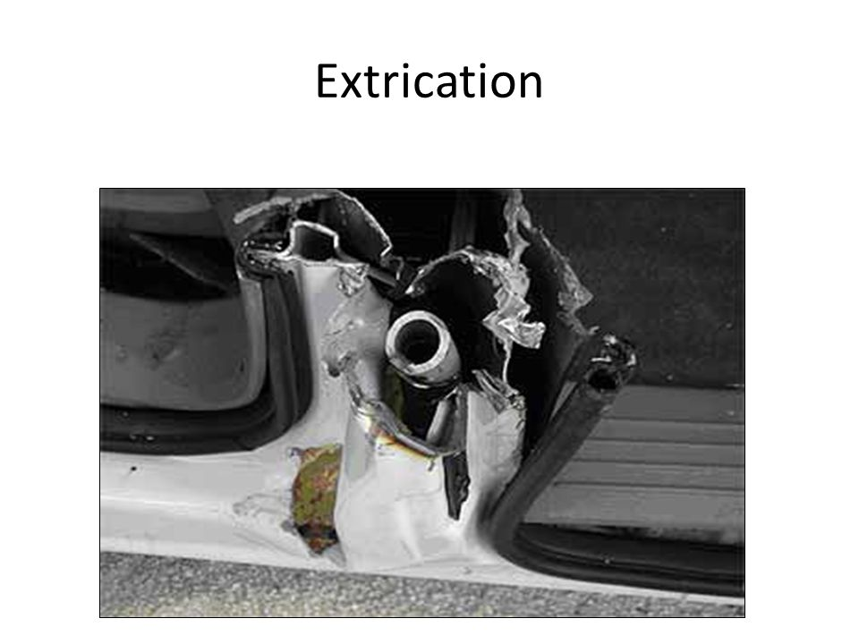 Extrication Chrysler is also using an ultra high strength steel pipe inside their B-Post on their mini-vans.