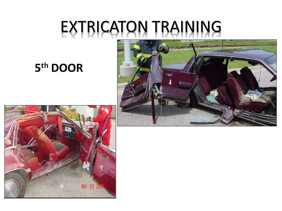 EXTRICATON TRAINING 5th DOOR