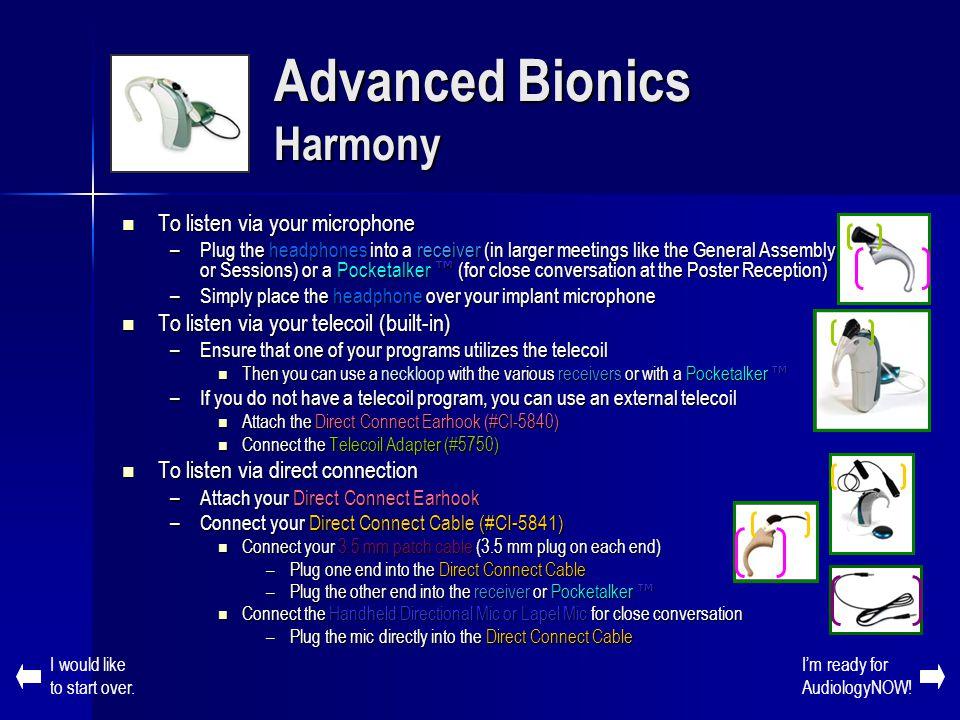 Advanced Bionics Harmony