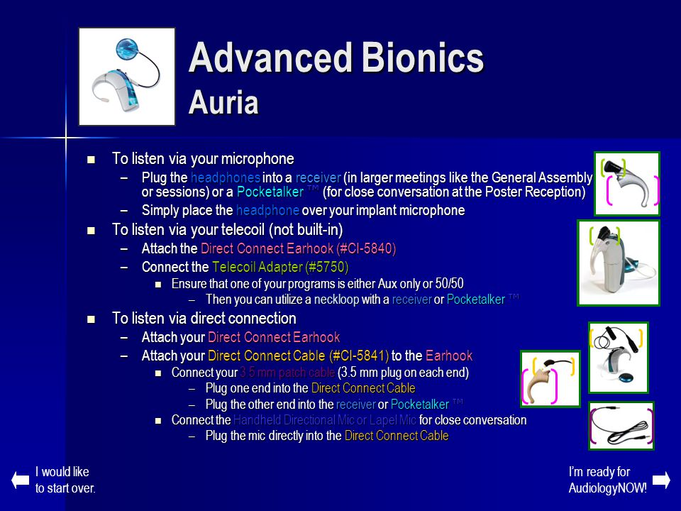 Advanced Bionics Auria