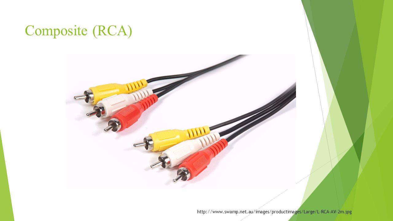 Composite (RCA) http://www.swamp.net.au/images/productimages/Large/L-RCA-AV-2m.jpg
