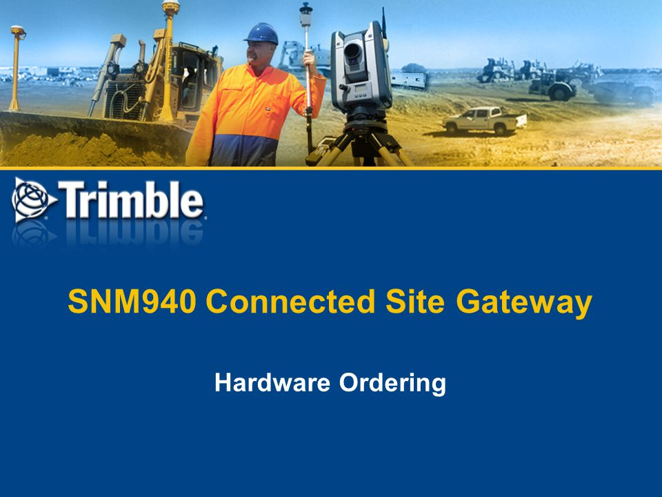 SNM940 Connected Site Gateway