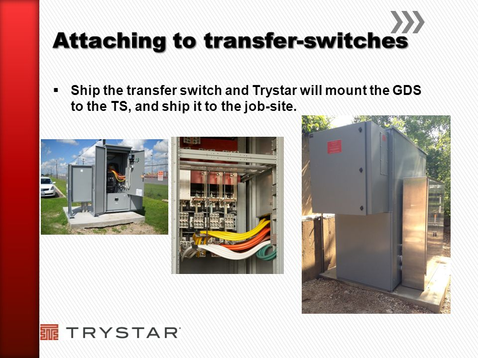 Attaching to transfer-switches