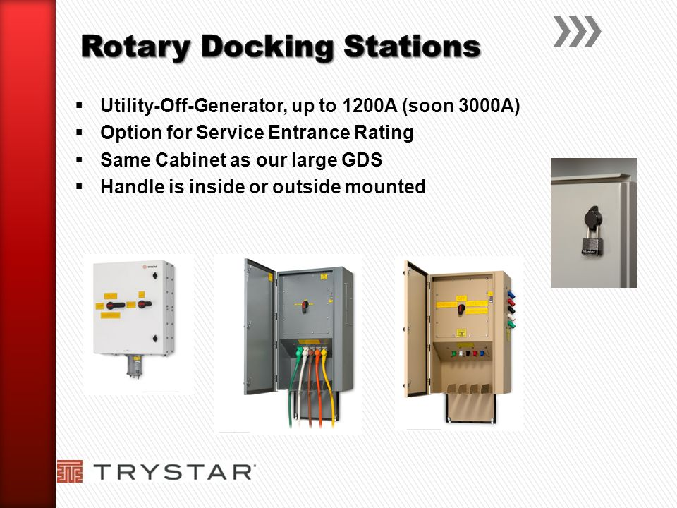 Rotary Docking Stations