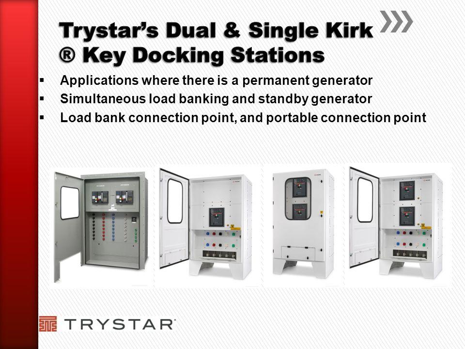 Trystar's Dual & Single Kirk ® Key Docking Stations